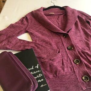 💜Mossimo & Supply Co Purple Cardigan Sweater💜